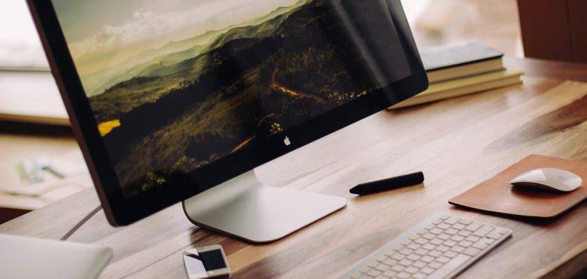 Ecran Apple Mac pour retouche photo